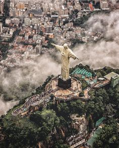 Follow @earthfever for the most breathtaking travel & adventure photos! @earthfever Christ the Redeemer Rio de Janeiro Brazil | Photography by @bskphoto by welivetoexplore