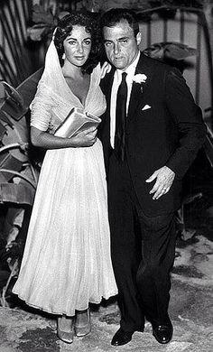 Wedding Elizabeth Taylor and Michael Todd