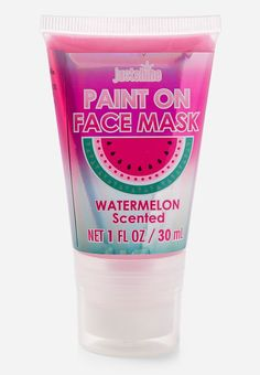 mask aesthetic girl Just Shine Watermelon Paint On Face Mask Makeup Kit For Kids, Kids Makeup, Face Care, Body Care, Skin Care, Justice Makeup, Watermelon Painting, Justice Accessories, Unicorn Fashion