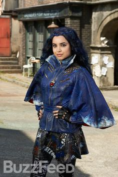 """The Evil Queen's daughter Evie   Here's The First Look At Your Favorite Disney Characters' Spawn In """"Descendants"""""""