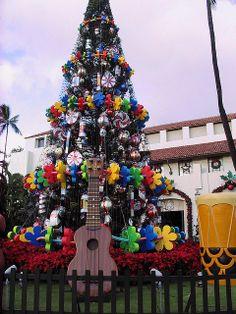 Hawaiian Christmas Tree.