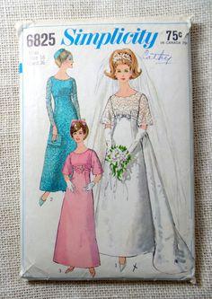 22 best Vintage Wedding Dress Patterns images on Pinterest | Wedding ...