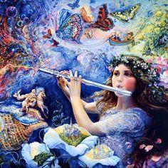Enchanted Flute ~ Josephine Wall                                                                                                                                                                                 More