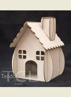 Cute house to assemble and decorate