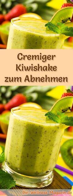 Kiwishake zum Abnehmen und weitere leckere Abnehmshakes, Eiweißshakes & Smoothies zum selber machen - Kiwis fördern die Fettverbrennung ...