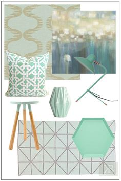 Mint accents for you home  http://karolinabarnes.co.uk/blog/mint-smart-buys/#more-8393