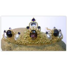 Medieval Crown - Renaissance Crown, Medieval Jewelry, Renaissance... ($85) ❤ liked on Polyvore