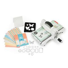 Sizzix� Big Shot� Starter Kit da Ellison - Macchine & Software - Ricamo - Casa Cenina