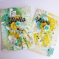 This is a set of cards I created for Maja Designs using th… | Flickr