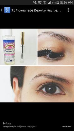 Great tip for longer and thicker eyelashes