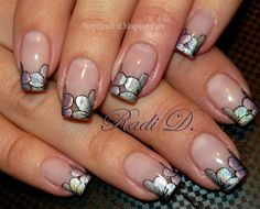 1st place Nail Art by RadiD - Nail Art Gallery nailartgallery.nailsmag.com by Nails Magazine www.nailsmag.com #nailart
