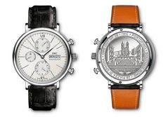 IWC  Portofino Chronograph - Special edition to celebrate opening of the new IWC Boutique in Rome.