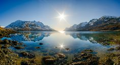 Ersfjordbotn sunny panorama | panorama made of 3 vertical | Flickr - Photo Sharing!