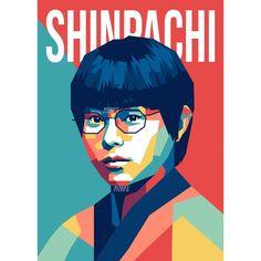 SHIMURA SHINPACHI / Shin-Chan #shinpachi #masakisuda Wpap @pensilkurva . . . . . . . . . #design #vector #wpap #digitalart #fanart #cartoon #colorful #line #designer #illustration #instagram #likeforlike #latepost #instagood #drawing #popart #art #artistsoninstagram #artist #creative #kagura #liveaction #gintamacosplay #gintamaanime #japan #jump #shounen @gintama_kocak @official_sakata_gintoki @gintama_indos @japanesestation @gintama_official_ Pop Art Face, Live Action, Digital Art, Cosplay, Cartoon, Portrait, Abstract, Drawings, Creative