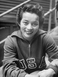 VICKY MANOLO DRAVES - the first woman to win springboard and platform gold medals in the same Olympics, in Forest Lawn Memorial Park, Digital History, Islamic Society, American Athletes, Asian American, Grave Memorials, Summer Olympics, Historical Pictures, Life Magazine
