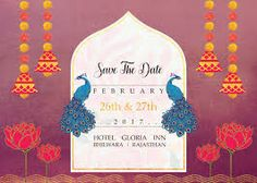 Best Wedding Images On Pinterest Weddings Dream Wedding And - Save the date indian wedding templates free