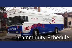 Allegheny County (Pa.) Library bookmobile.