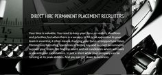 Connections Recruiting Direct Hire Permanent Placement www.connectionsrecruiting.com