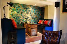 Wall & Keogh Tea House by Joanne Kelly, via Behance Joanne Kelly, Dublin House, Rustic Cafe, Second Hand Furniture, Tea, Contemporary, Wall, Dublin Ireland, Portobello