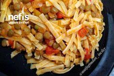 Turkish Recipes, Ramen, Noodles, Pasta, Chicken, Meat, Food, Green Lentils, Bulgur