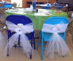Awesome The Chairs Are Brown Metal Folding Chairs. Was Thinking Of Using White  Tulle To Use