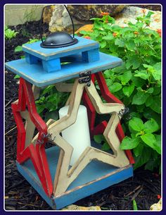 Craft Goodies via Wood You Like To Craft's website - June 2011 - Star Lantern Tutorial