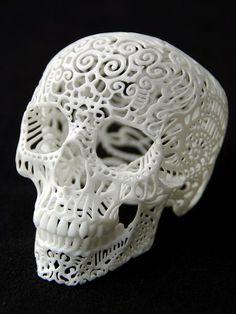 Josh Harker - Crania Anatomica Filigre- Large