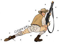 49405891bdcd2 emma munger    comics    illustration. Jurassic ParkMovie ...