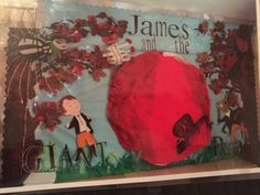 James and the giant peach book display 2014