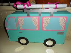 Sindelicious papercraft: Surprise - VW camper