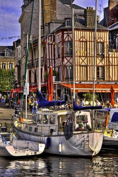 ~ Living a Beautiful Life ~ Honfleur Port, Normandy, France, one of the prettiest harbours on the northern coastline. Places Around The World, The Places Youll Go, Places To Visit, Around The Worlds, Wonderful Places, Great Places, Beautiful Places, Beautiful Life, Paris