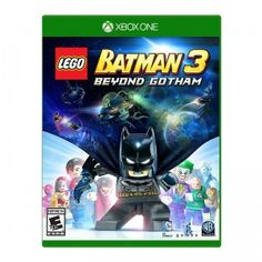 Smash, grab and build your way through Gotham, and beyond in LEGO Batman 3: Beyond Gotham for Nintendo, XBox, & Playstation.