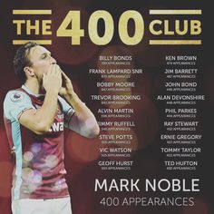Twitter Trevor Brooking, Mark Noble, West Ham United Fc, Bobby Moore, That Way, Bond, Counting, Football, American Football
