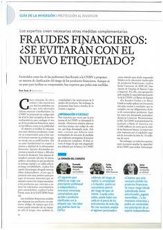 Fraudes Financieros: ¿Se evitarán con el nuevo etiquetado?