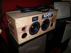 Picture of Portable Bluetooth Speaker Boombox