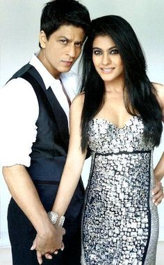 SRK and Kajol in Vogue