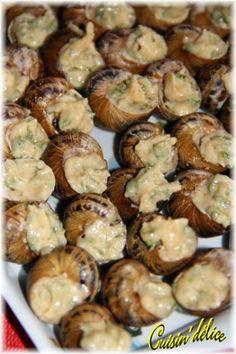 Escargots à ma façon, Recette de Escargots à ma façon par Claryss - Food Reporter