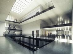 Building O - University of Antwerp Auditorium and Research Building Winning Proposal / META architectuurbureau
