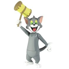 Tom and Jerry 6-Inch Smashing Action Tom Cat Action Figure