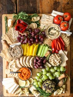 DIY Vegan Charcuterie Board