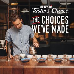 At NESCAFÉ Taster's Choice, we craft a delicious cup that's simple for you to enjoy. Our master crafters have years of experience, a commitment to their craft, and high standards for taste and aroma. It's simple for you to make at home and easy to customize to your personal taste