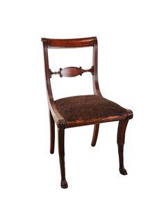 Duncan Phyfe Period Regency Chair