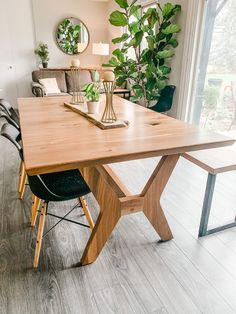 Beautiful live edge furniture built to your specifications. Order something Rustix today to see the difference quality makes. Live Edge Furniture, Furniture Design, Walnut Table, Mid-century Modern, Mid Century, Dining Table, Studio, Products, Home Decor