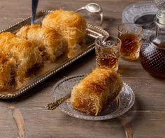 Κανταΐφι   Συνταγή   Argiro.gr - Argiro Barbarigou Greek Sweets, Greek Desserts, Greek Recipes, French Toast, Food And Drink, Bread, Cheese, Breakfast, Morning Coffee