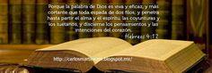 Carlos Martínez M_Aprendiendo la Sana Doctrina: hEBREOS 4:12