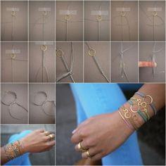 stylish macrame bracelet