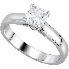 .04 ct tw Diamond Semi-Mount Engagement Ring   Stuller.com