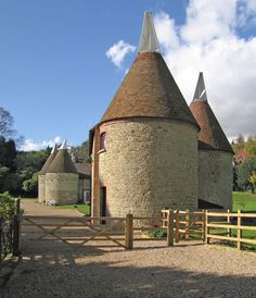 Oast Houses in the grounds of Chartwell, Westerham