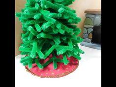 Dollhouse Miniature Christmas Tree Skirt - YouTube