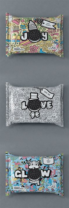 Customizable Oreo packaging by Jeremyville and Timothy Goodman